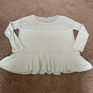 Free People sweater size medium